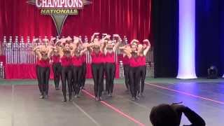 Langley High School Dance Team 2014 - Nationals Kick Dance