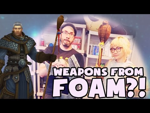 Cosplay Class - FOAM WEAPONS??