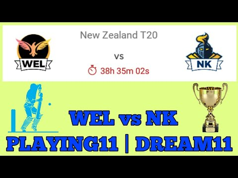 WEL vs NK NEW ZEALAND T20 | PLAYING11 | DREAM11, PREDICTION | PREVIEW 2017
