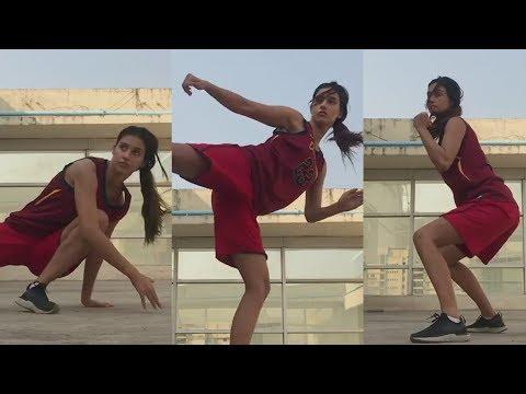 Disha Patani's LIVE STUNTS Video | High Kick Stunt | Bharat Mp3
