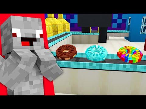 ICH BAUE DIE 4.000.000€ DONUT FABRIK in Minecraft