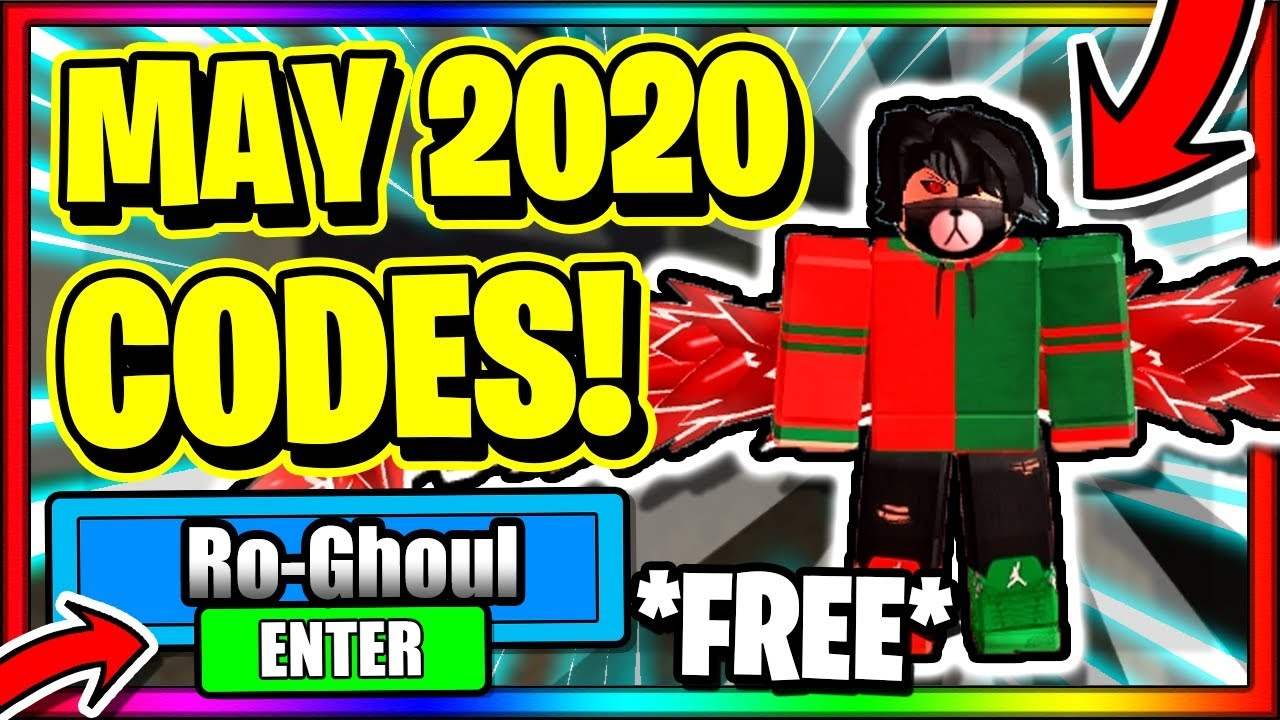 Roblox Ro Ghoul Codes From March To June 2019 Ro Ghoul Ro Ghoul Codes 2020 March