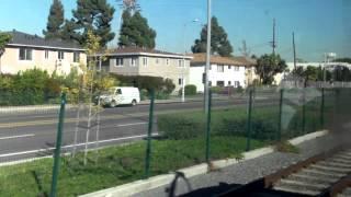 Ridin Metro Expo Line-  La Cieniga/Jefferson Station to Expo/ LaBrea