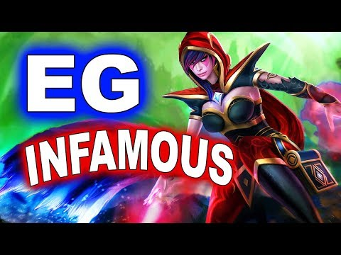 EG vs INFAMOUS - American Elimination - ESL KATOWICE MAJOR DOTA 2