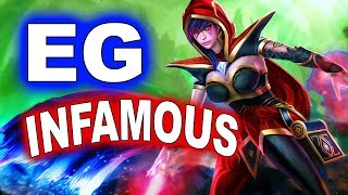 EG vs INFAMOUS - American Elimination - ESL KATOWICE MAJOR DOTA 2