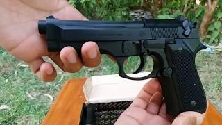My New pistol 30 bore Beretta style 2018