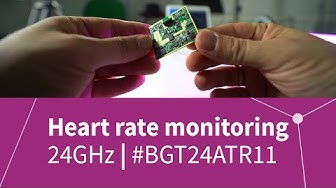Respiration rate and heart rate monitoring using our 24GHz sensor IC & AURIX™ MCU | Infineon