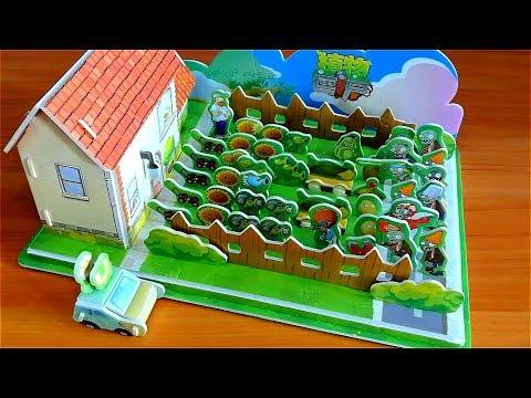Teka-teki 3D - Rumah Gila Dave | Plants Vs. Zombies (konstruktor Game)