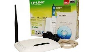 Настройка маршрутизатора (роутера) TP-Link  TL WR740N(Распаковка и настройка маршрутизатора (роутера) TP-Link TL WR740N., 2015-05-10T06:17:29.000Z)