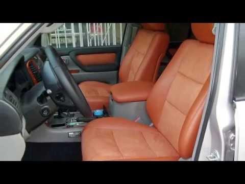 Тюнинг салона Toyota Land Cruiser 100