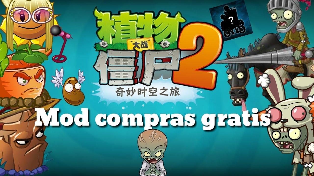 Plants Vs Zombies 2 Chino Apk Mod Version 2 3 7 Youtube