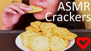 ASMR Onion & Sour Cream Crackers Eating Sounds