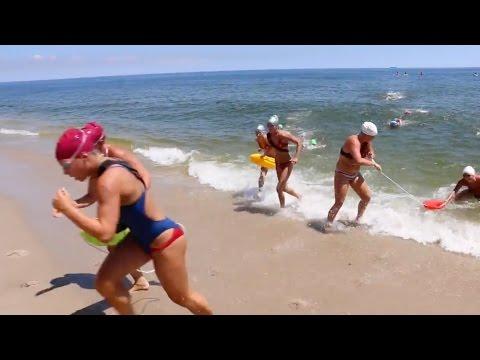 2016 All-Women Lifeguard Tournament at Sandy Hook