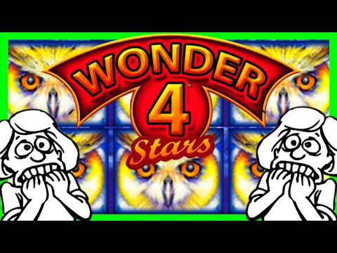THE MOST SUSPENSEFUL Slot Machine Video On Youtube! Wonder 4 Stars SUCCESS W/ SDGuy1234 - 동영상