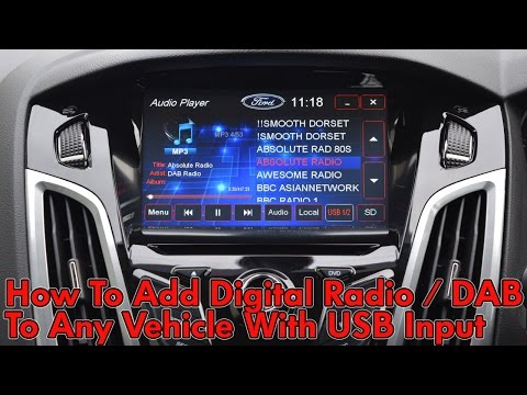 How To Add Digital Radio To Any Vehicle With USB Input