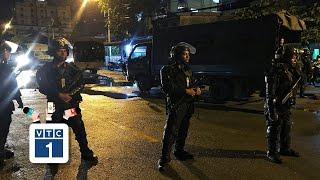Cảnh sát khám xét trụ sở Alibaba xuyên đêm