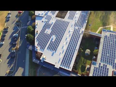Rock Hill Schools Rooftop Solar Array