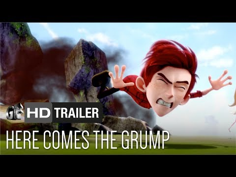 Here Comes The Grump   Lily Collins, Toby Kebbell, Ian McShane