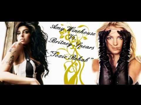 Amy Winehouse Vs. Britney Spears - Toxic Rehab (Mashup By Sakharov)