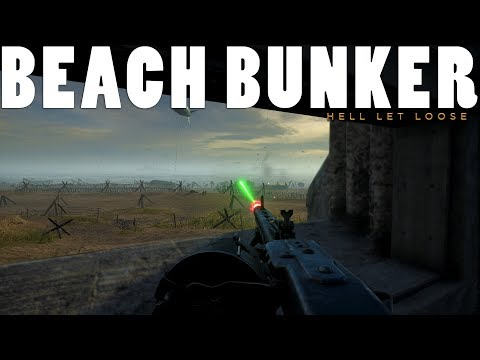 MG42 BUNKER LAST STAND - Hell Let Loose Gameplay |