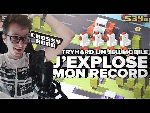 Crossy Road - J'EXPLOSE mon record ! (Tryhard un jeu mobile really ?)