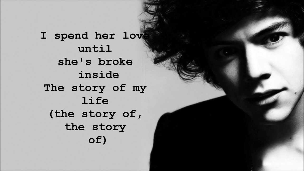 One Direction Story of My Life (Lyrics & Pictures) - YouTube
