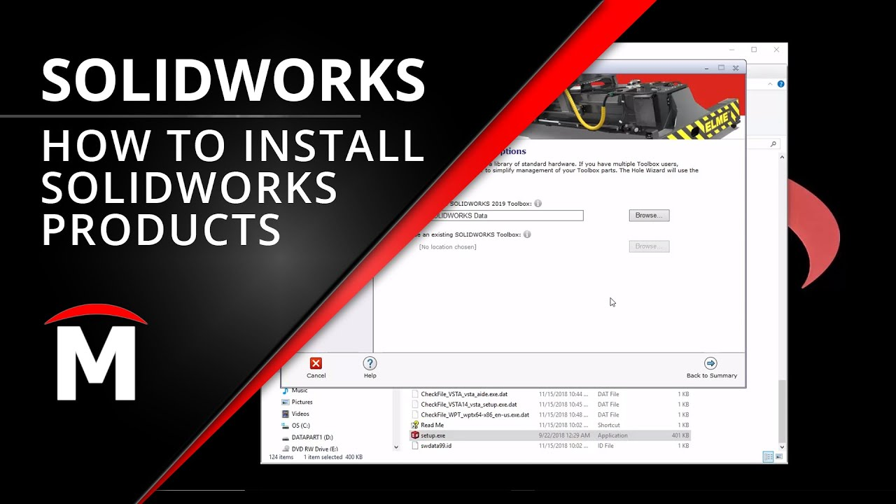 SOLIDWORKS 2019: How to Install SOLIDWORKS