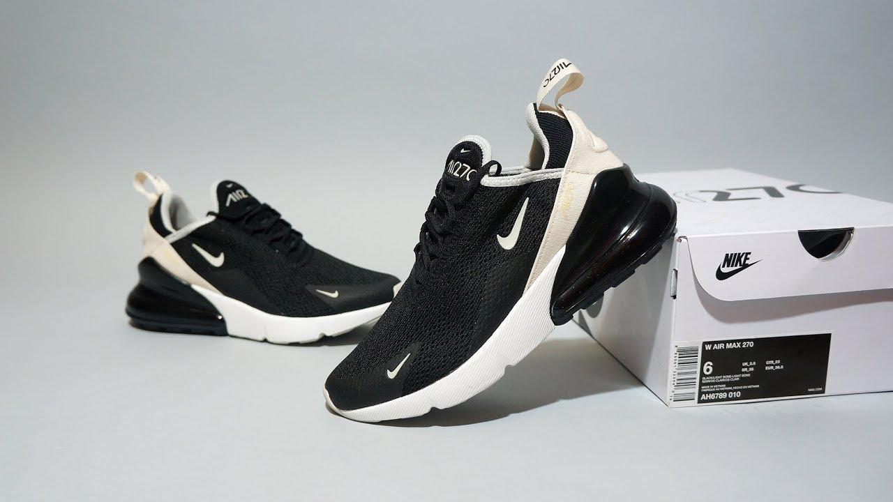buy popular 00a62 fca59 Nike Air Max 270 black beige AH6789-010
