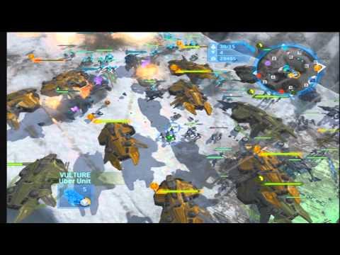 Halo wars massive Battle: UNSC vs Covenant poster