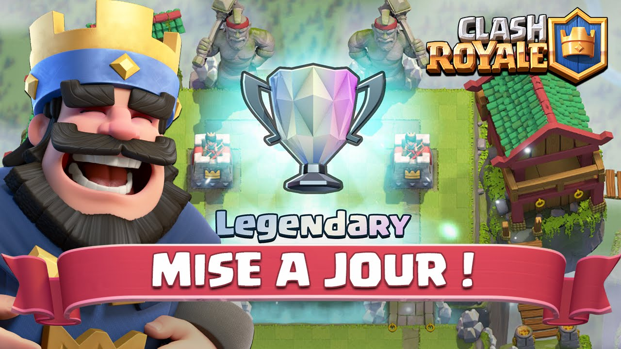 la mise jour clash royale est disponible d couvrons l avec farsattack youtube. Black Bedroom Furniture Sets. Home Design Ideas