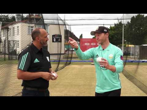 Kia Masterclass Batty - Bowling off-spin