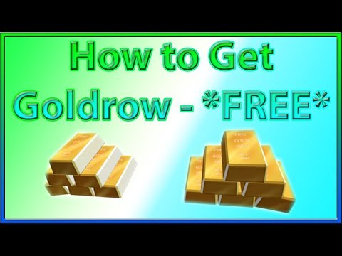 How To Get The Goldrow On Roblox Free Item 2019 August Youtube