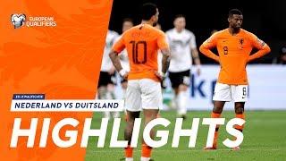 Highlights: Nederland - Duitsland (24/03/2019) EK-kwalificatie 2020