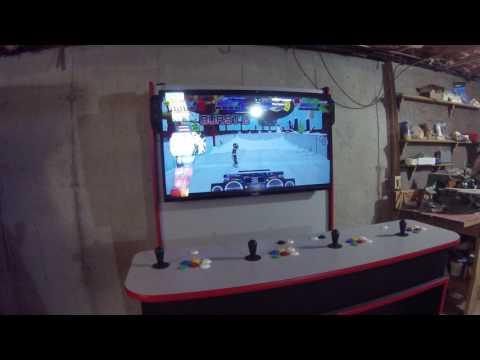 4 Player Arcade Machine