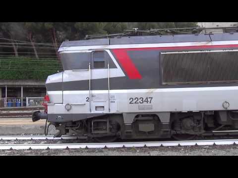 BB 22347 SNCF IN LIVREA MULTISERVICE - VENTIMIGLIA. 12 - 7 -2014.