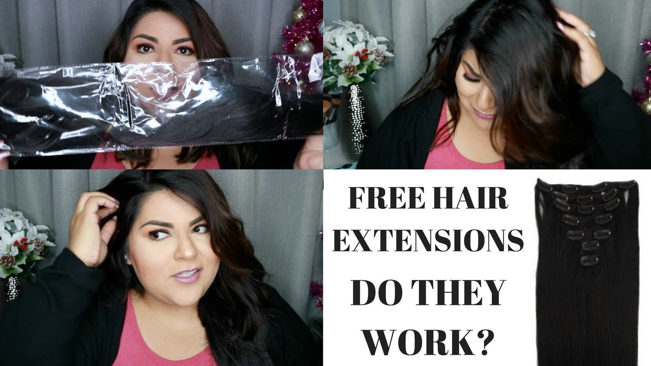 Belle Hair Free Hair Extensions My Thoughts Youtube