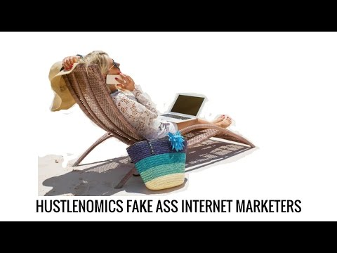 Fake Internet Hustlers on the BEACH- Working Hard is Working SMART