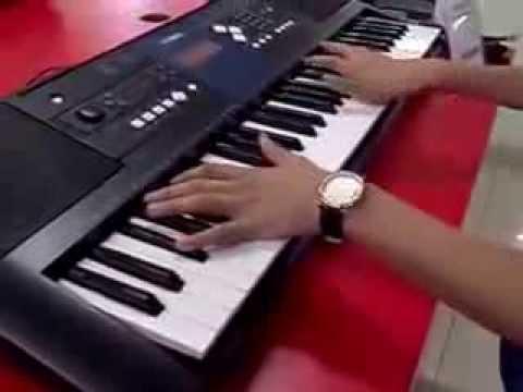 клубняк на синтезаторе