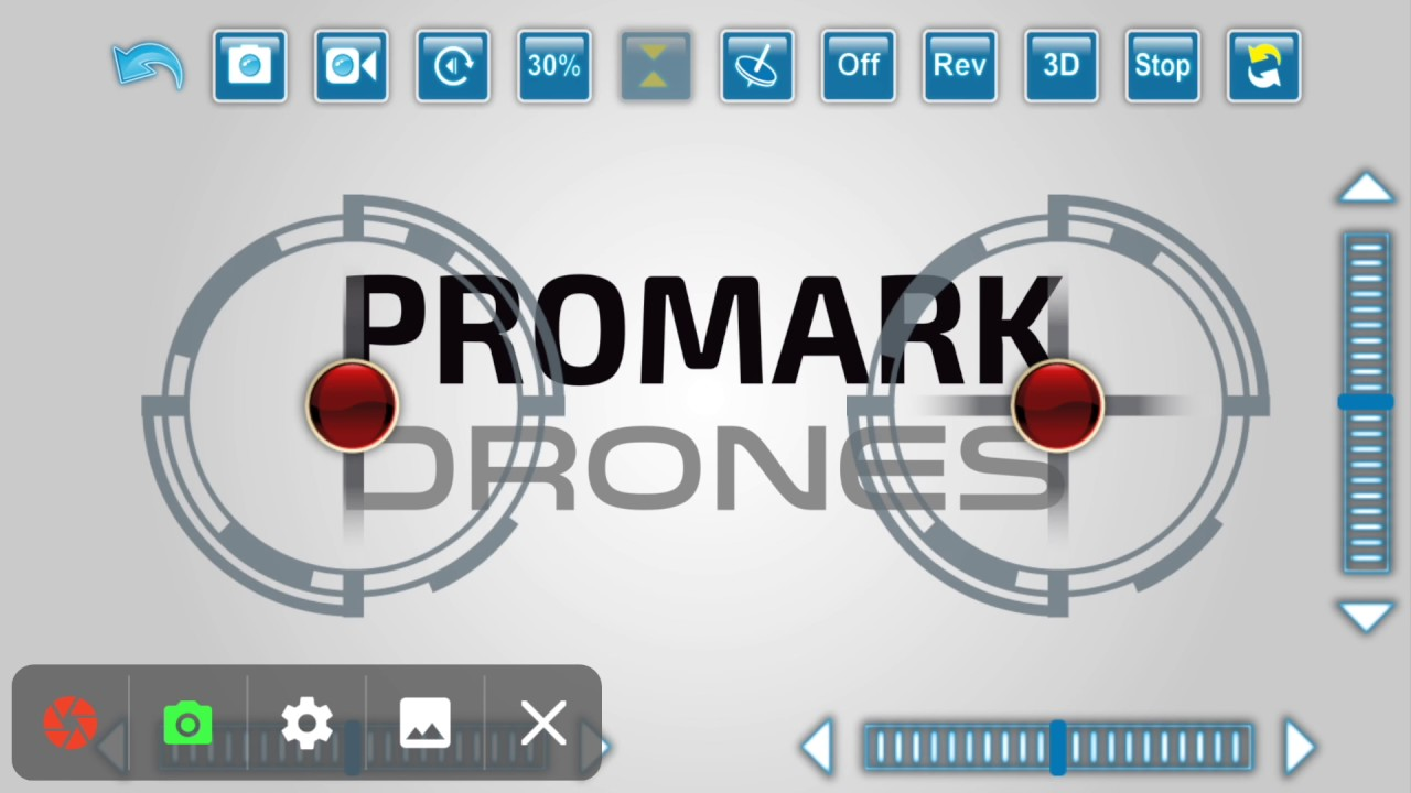 Getting To Know Your Promark Drone App Photo Video Flight