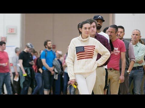 U.S. midterm voting: long lines, broken machines