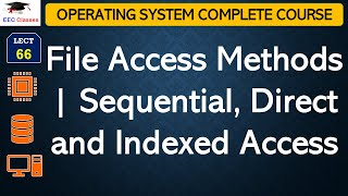 File Access Methods | Sequential, Direct and Indexed Access