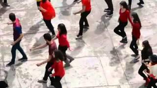 flash mob el da del espaol lyce pilote de l ariana