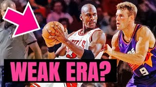 DESTROYING The MYTH That Michael Jordan Dominated A WEAK ERA