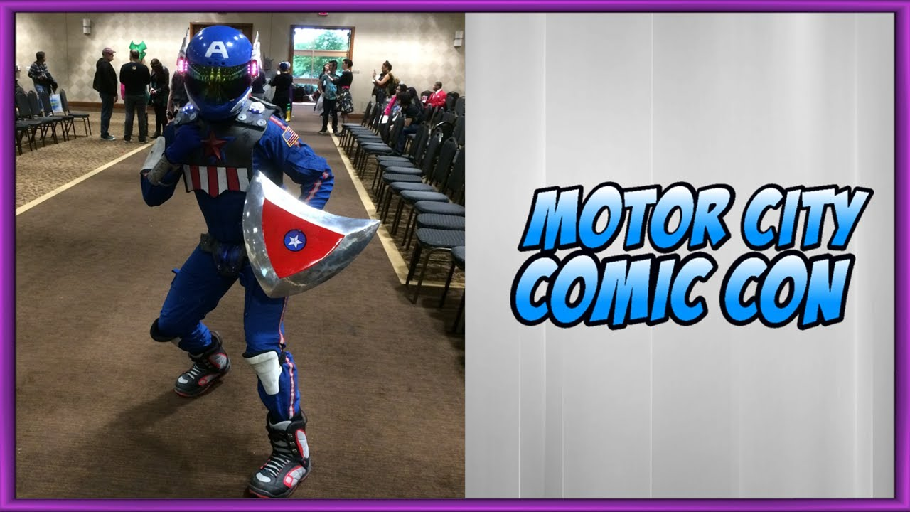Motor city comic con 2017 cosplay youtube for Motor city comic con