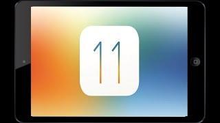 оБЗОР IOS 11 на iPad mini 2