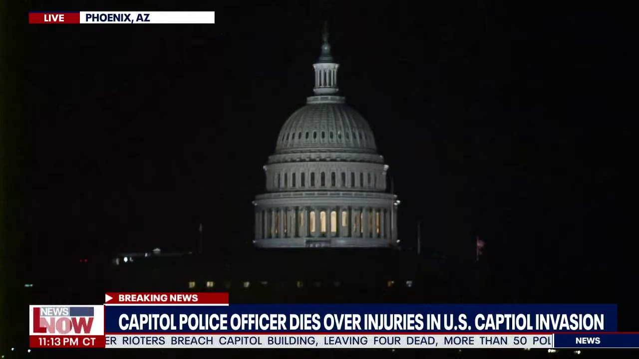 U.S. Capitol Police officer Brian D. Sicknick, who died after assault ...