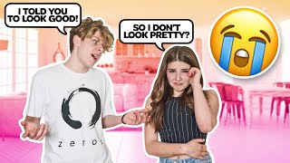 I Told You To LOOK GOOD...**PRANK ON GIRLFRIEND** | Lev Cameron