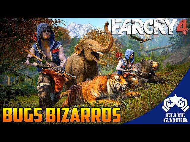 FarCry 4 PS4 - Bugs Bizarros [Projeto Parceiros Elite GamerBR]