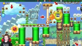 Super Mario Maker - Speedrun Levels Montage #30
