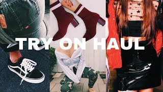 WINTER/FALL TRY ON HAUL 2017 ♡ Guemz